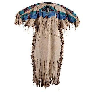 Plateau Beaded Hide Dress