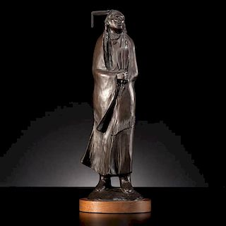 Allan Houser (Chiricahua Apache, 1914-1994) Bronze