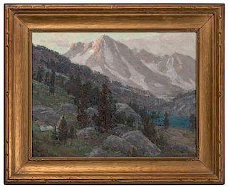 Edgar Alwin Payne (American, 1882-1947) Oil on Canvas