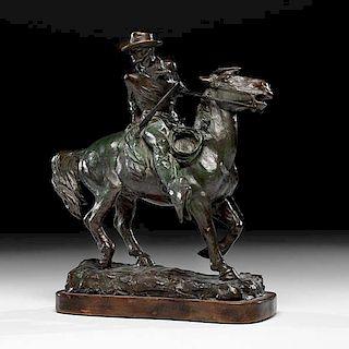 Olaf Wieghorst (American, 1899-1988) Bronze