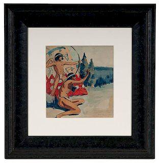 Nick Eggenhofer (American, 1897-1985) Illustration