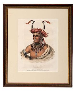 Thomas McKenney and James Hall (American, 19th century) Hand-Colored Lithographs