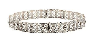 Mexican Sterling Silver Belt
