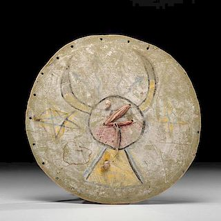 Pueblo Dance Shield from the Collection of Forrest Fenn