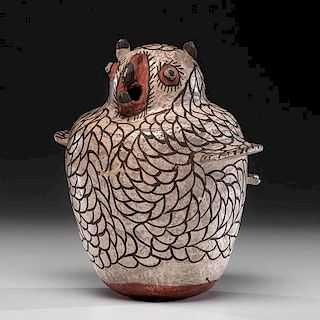 Zuni Pottery Owl From the Akron Art Museum Collection