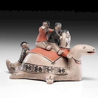 Helen Cordero (Cochiti, 1915-1994) Pottery Mother Turtle