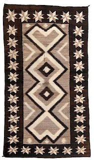 Navajo C.N. Cotton Regional Weaving / Rug