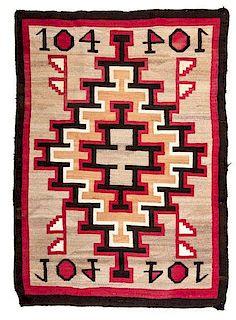 Navajo Ganado Weaving / Rug