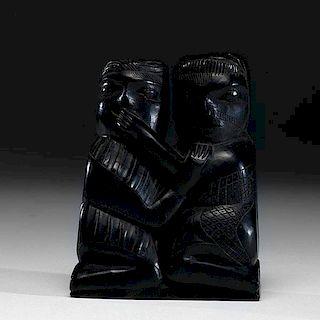 Haida Argillite Carving