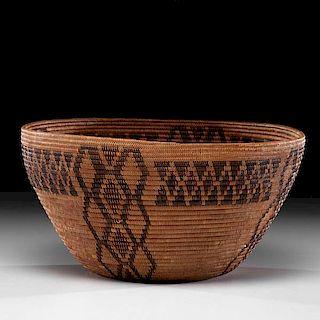 Yokut Polychrome Basket