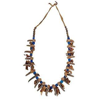 Plains Bear Claw Necklace
