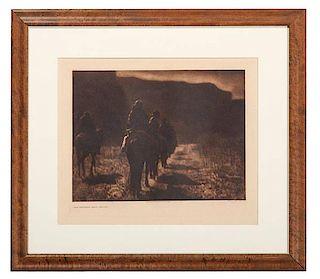 Edward Curtis Photogravure, The Vanishing Race