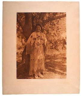 Edward Curtis (American, 1868-1952) Photogravures