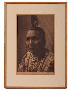 Edward Curtis (American, 1868-1952) Photogravure Wet – Apsaroke
