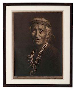Karl Moon (American, 1879-1948) Silver Gelatin Photograph, Pesothlanny