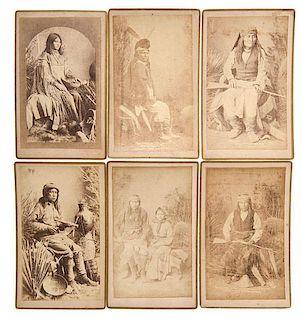Ben Wittick (American, 1845-1903) Boudoir Photographs