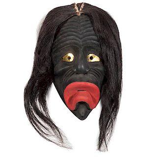 Haudenosaunee [Iroquois] Onondaga Drooping Mouth Mask