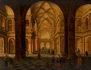 ATTRIBUTED TO HENDRIK VAN STEENWIJK II (DUTCH 1580-1649)