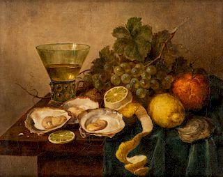 EUROPEAN 18TH CENTURY ARTIST IN THE STYLE OF WILLEM CLAES. HEDA (DUTCH 1594-1680)