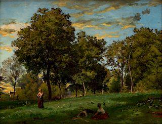 CHARLES-FRANCOIS DAUBIGNY (FRENCH 1817-1878)