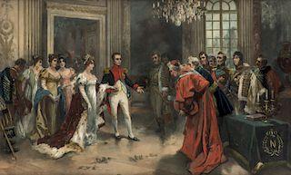 VICENTE GARCIA DE PAREDES (SPANISH) 1845-1903)