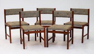 5pc Scandinavia Woodworks Co Modern Side Cha