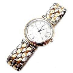 Van Cleef & Arpels 18k Gold Stainless Steel Classique Quartz Watch