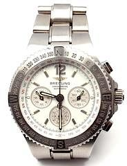 Breitling Hercules Chronograph Stainless Steel Automatic Watch