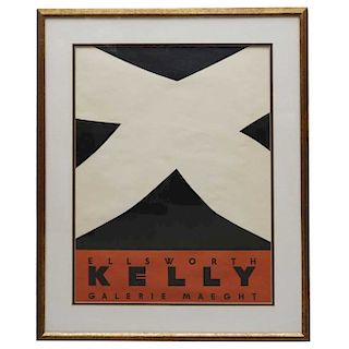 Ellsworth Kelly Vintage Poster