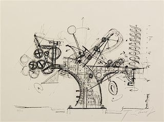 Jean Tinguely, (Swiss, 1925-1991), Chaos, 1974