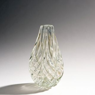 Paolo Venini, 'Diamante' vase, 1934-36