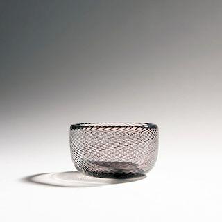 Carlo Scarpa, 'Mezza filigrana' bowl, c. 1936