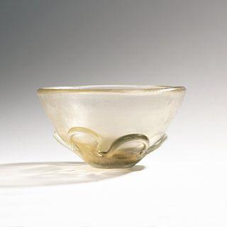 Carlo Scarpa, 'Corroso' bowl, c. 1936