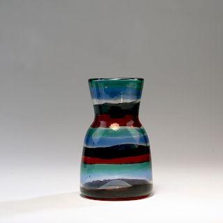 Fulvio Bianconi, 'A fasce di colore' vase, 1953