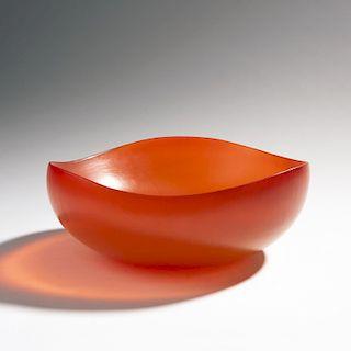 Tobia Scarpa, 'Battuto' bowl, 1959/1960