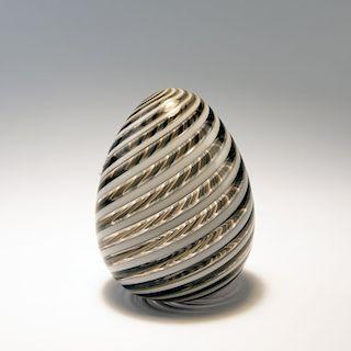 Venini & C., Murano, Egg, c. 1984