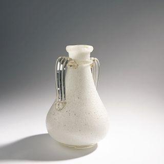 Ercole Barovier, 'Pulegoso' handles vase, c. 1930