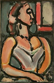 Georges Rouault aquatint