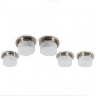 , Five ceiling lights, c1930