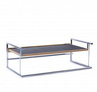 Eileen Gray, 'Menton' height-adjustable table, 1932