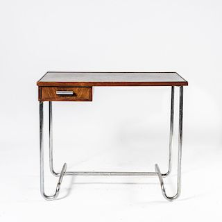 Thonet, France (attributed), Small desk, 1930s