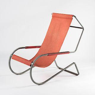 Gino Giudici; Battista Giudici, 'Lido' sun chair, 1935