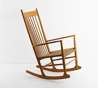Wegner, Hans J., 'J-16' rocking chair, c. 1944