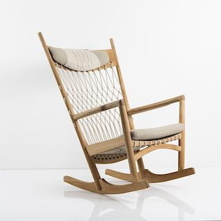 Hans J. Wegner, 'PP 124' rocking chair, 1984