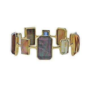 Ippolita Rock Candy Marrakesh Gemstone 18k Gold Bracelet