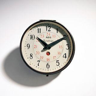Peter Behrens, Clock, c. 1910