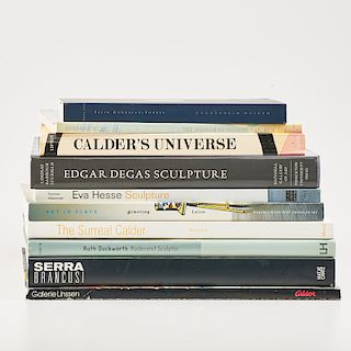 FINE ART BOOKS: SCULPTURE