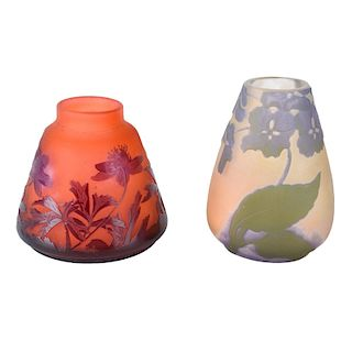 Two Galle Vases