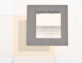 """Agnes Martin """"Stedelijk Museum"""" Lithographs (10)"""