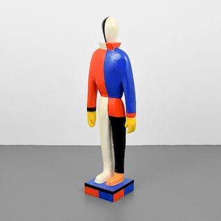 Large Kasimir Sevrinovitch Malevich (after) Sculpture